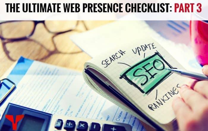 web presence checklist part 3