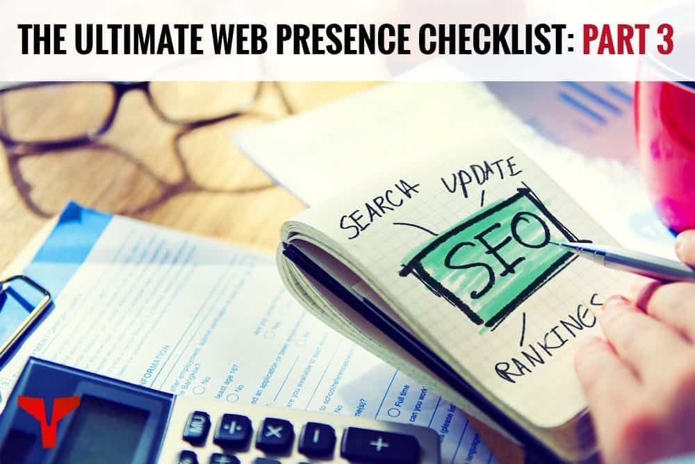 web presence checklist part 3